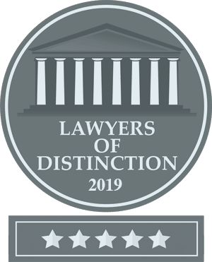 2019 lawyers of distinction logo